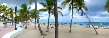 Beautiful Fort Lauderdale beach