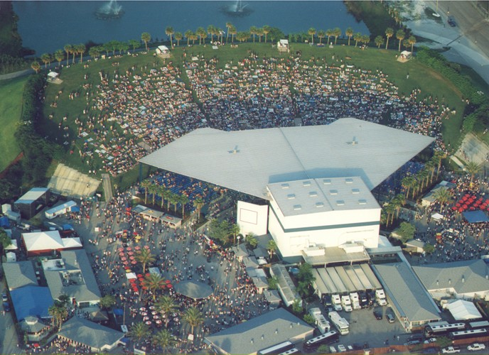 Music theaters in south Florida